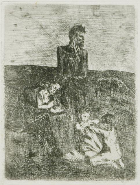 , 'Les Pauvres,' 1905, John Szoke