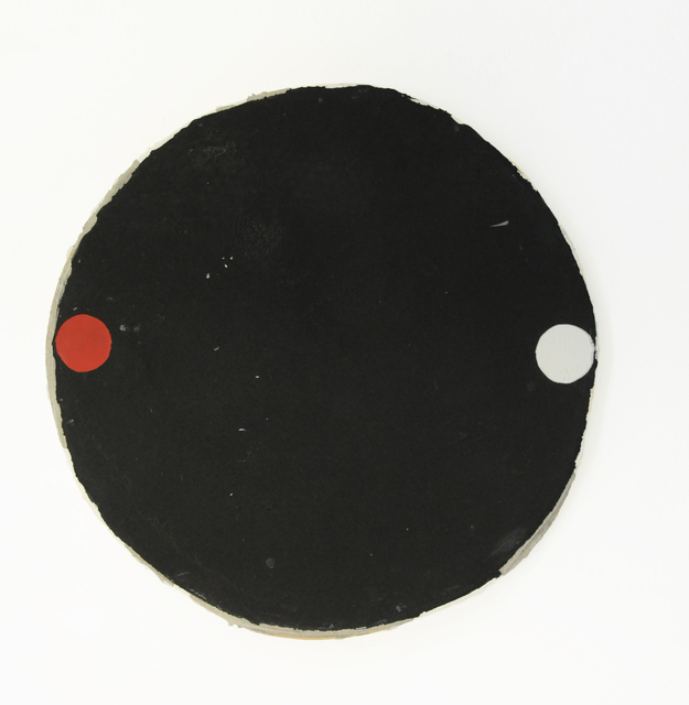 , 'Black Circle with Red and White Circle,' 2017, annex14