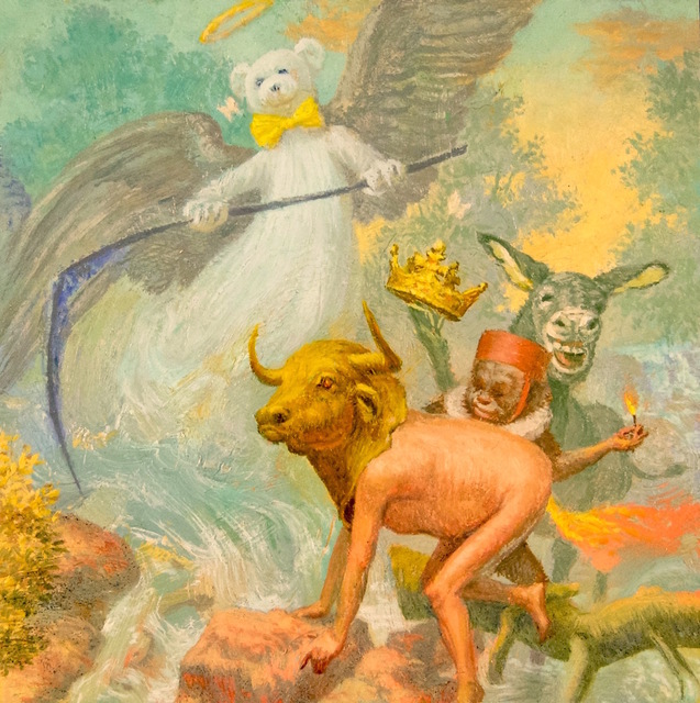 , 'Ferdy Fart King & the Angel of Death,' 2016, sp[a]ce