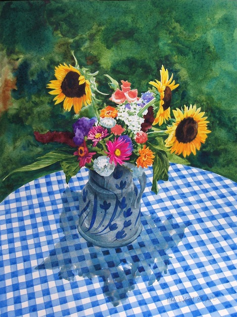 , 'Summer Bouquet,' , Beverly McNeil Gallery