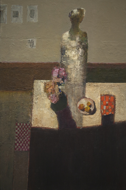 , 'Figure at Table,' 2018, Gallery 1261