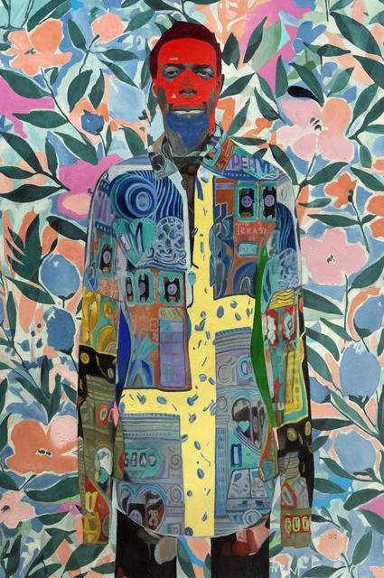Wole Lagunju, 'The Wilderness Experience', 2020, Painting, Oil on canvas, Ed Cross Fine Art