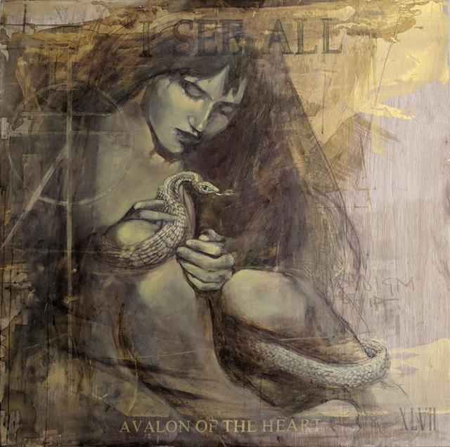 FAITH XLVII, 'Avalon of the Heart', 2019, Corey Helford Gallery
