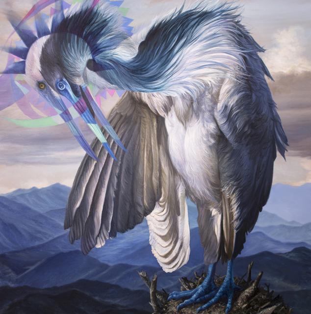 , 'White Egret,' 2019, Gallery Poulsen