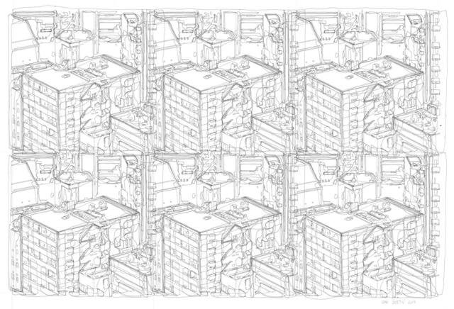 , 'Cityscape V,' 2017, Gara Perun Gallery
