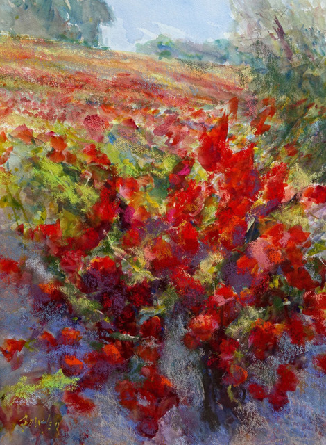 , 'Fall Vines,' 2018, Wally Workman Gallery