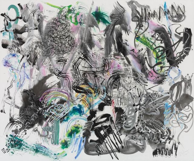 , '500 Brushstrokes #31 五百笔 #31,' 2017, Chambers Fine Art