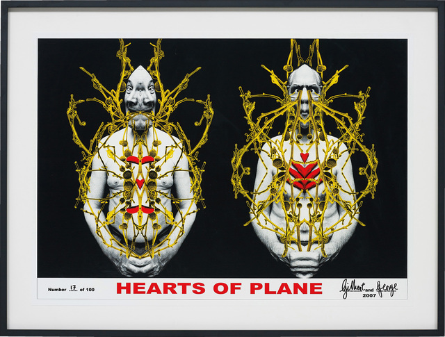 Gilbert and George, 'Hearts of Plane', 2007, Phillips