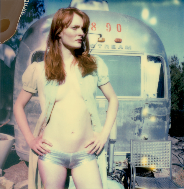 , 'Daisy in Front of a Trailer,' 2005, De Re Gallery