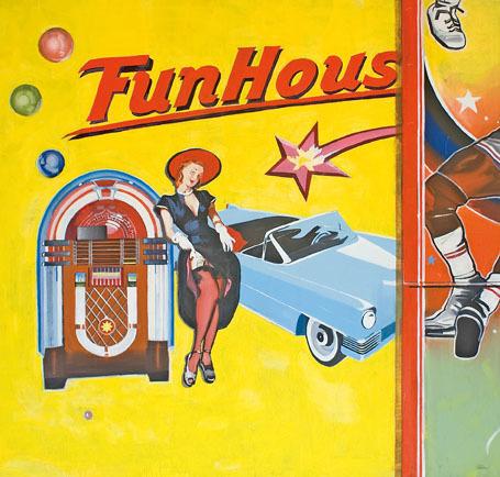 , 'Olle Wand - Funhouse,' 2008, Aki Gallery