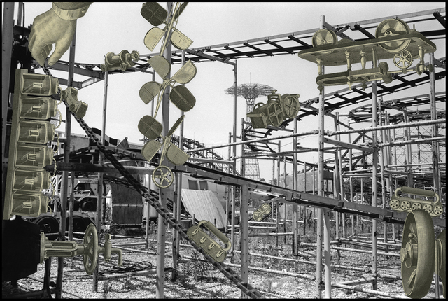 , 'Invented Landscapes of Coney Island 80B-NY,' 2004, David Klein Gallery
