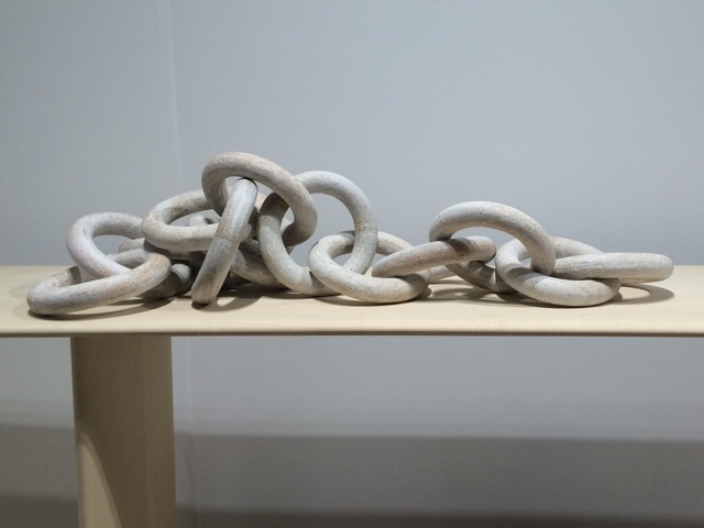 , '14 Linked Chains - White,' , FAIR Design