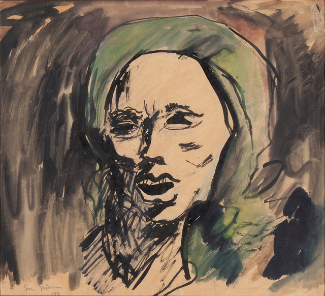 Sven X-et Erixson, 'Woman in Kerchief', 1932, Galleri Magnus Karlsson
