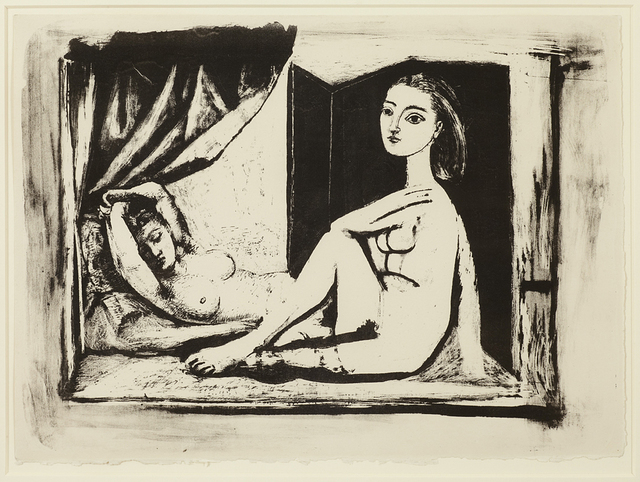 , 'Les Deux Femmes nues, State 7a, 5th January 1946,' 1946, Alan Cristea Gallery