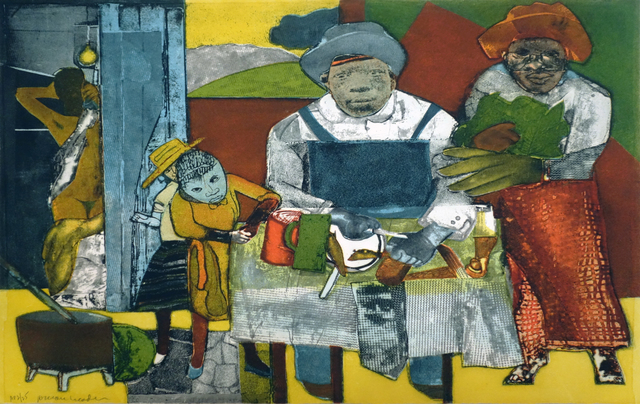 , 'The Family,' 1975, Bill Hodges Gallery