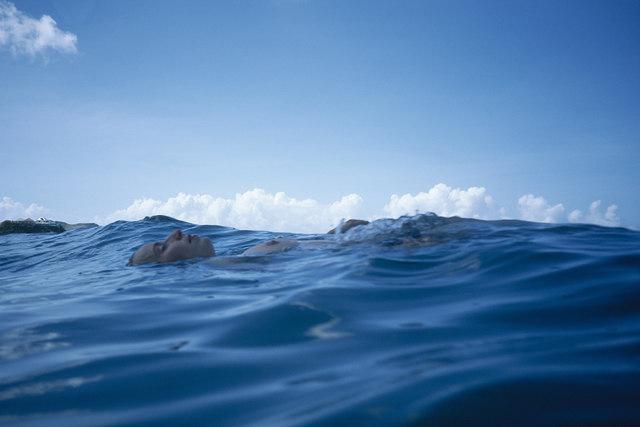 , 'Christine floating in the sea, St. Barth's,' 1999, Fraenkel Gallery