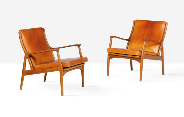 Erik Kolling Andersen, 'Pair of lounge chairs', circa 1955, Aguttes