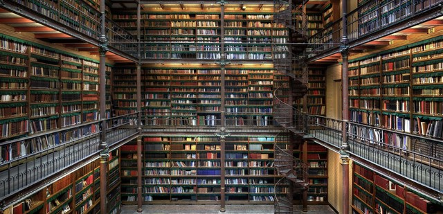 Christian Voigt, 'Research Library II, Amsterdam, The Netherlands', 2014, Lucia Mendoza