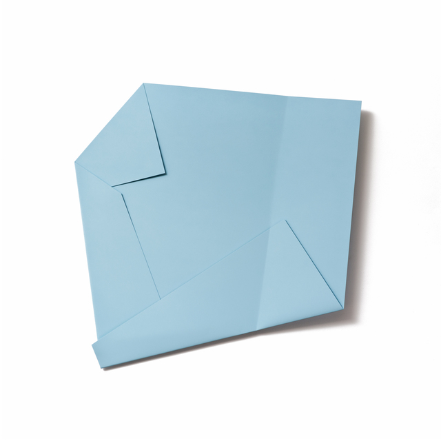, 'Light Blue Folded Flat 01,' 2015, Häusler Contemporary