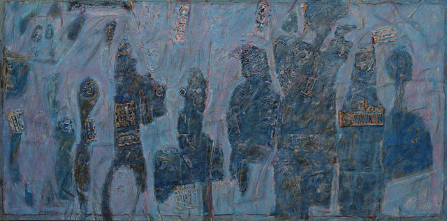 , 'Nocturnal Blue on Soul Street,' 1989, Winchester Galleries