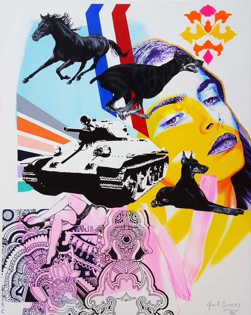 Jack Graves III, 'Cara Delevingne Supreme', 2020, Graves International Art