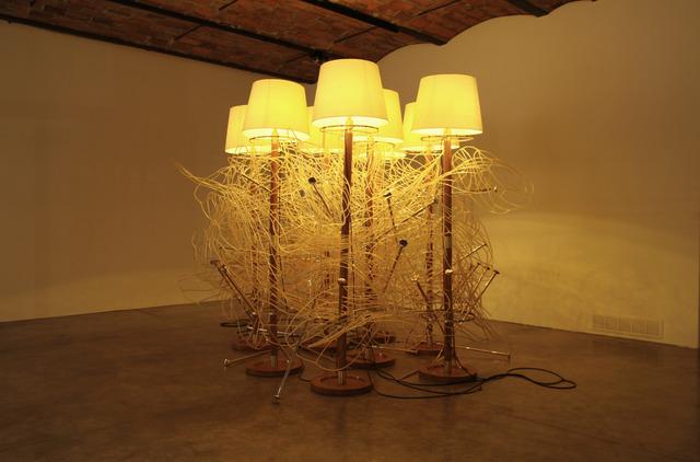 , 'Amber Foliation,' 2007, Mendes Wood DM