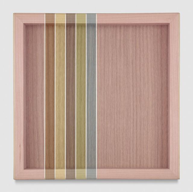 , 'Untitled (Pink Hovering Thread),' 2017, PRAZ-DELAVALLADE