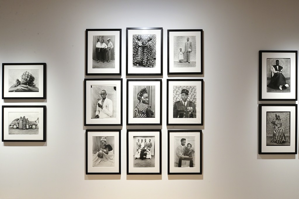 """View of """"Structures of Identity: Photography from the Walther Collection"""", Museo Amparo, Puebla, Mexico, 2017."""