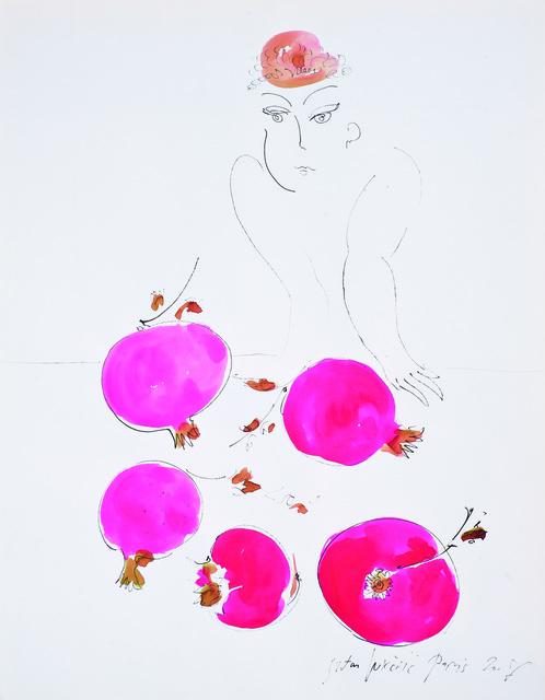 SRĐAN VUKČEVIĆ, 'Woman Selling Pomegranates', 2008, Museum of Modern Art Dubrovnik