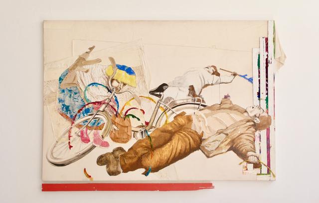Maurice Thomassen, 'Peripheral Theatre : Market', 2011-2019, Mixed Media, Mixed media on canvas, NL=US Art