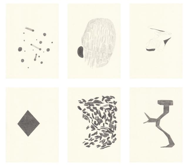 , 'Afinación I,' 2011, ProjecteSD