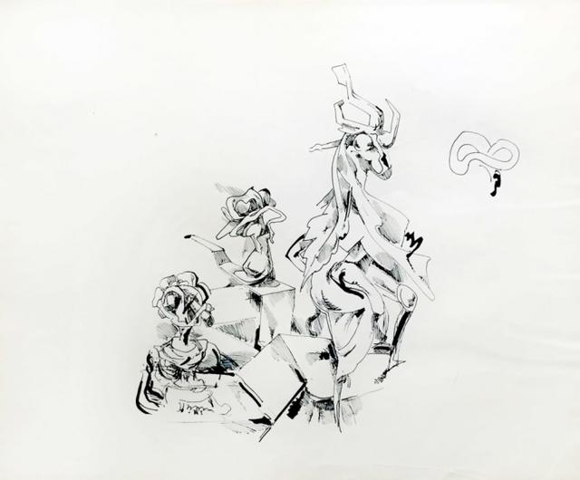 Kurt Seligmann, 'Untitled (Surrealist Still Life)', 1952, Dean Borghi Fine Art