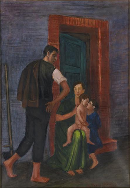 Gisberto Ceracchini, 'The family', 1955, Bertolami Fine Arts