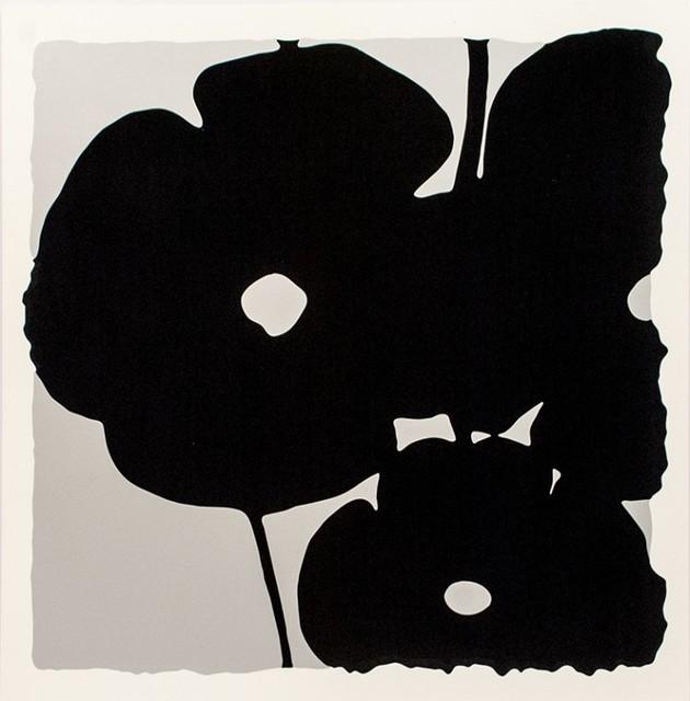 , 'Silver Reversal Poppies,' 2015, Vertu Fine Art