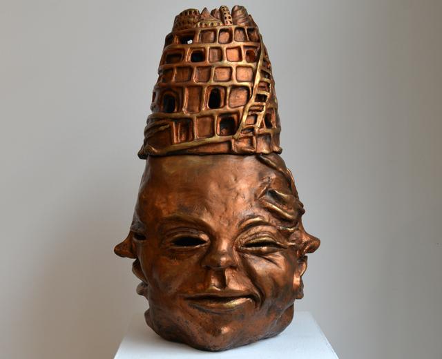 , 'Babel Buddah,' 2015, Carter Burden Gallery