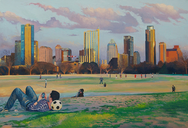 , 'The People's Republic of Austin,' , Davis Gallery & Framing