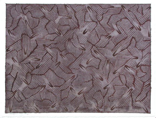 , 'Ecriture Series III #17,' 1994, Galerie Bhak