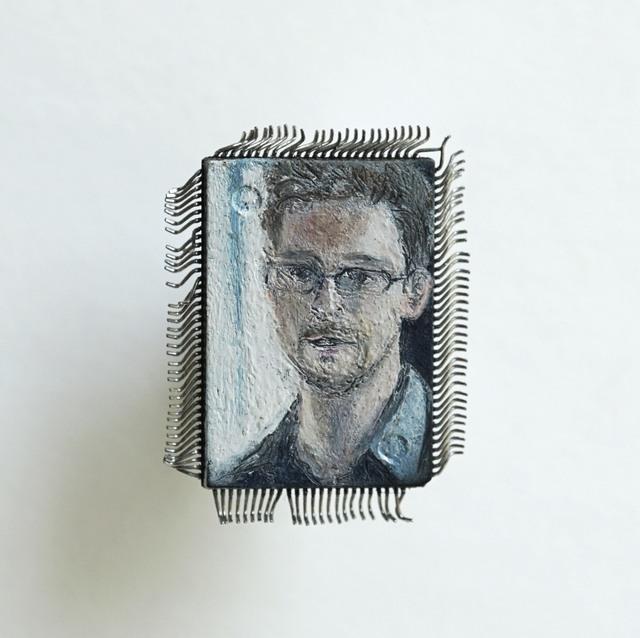 Yuri Zupancic, 'Snowden ', 2013, Gonzo Gallery