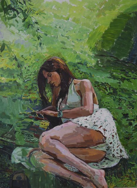, 'The Girl on Lawn,' 2010, Pékin Fine Arts