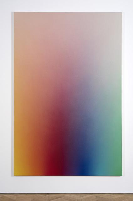 , 'Spectrum Fade (Yellow, Orange, red, magenta, violet, blue green),' 2017, Vigo Gallery