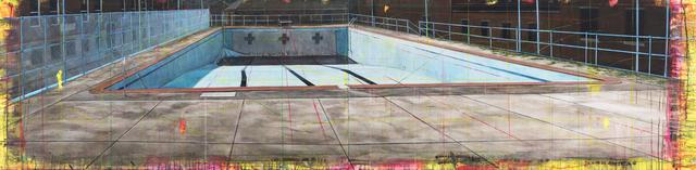 , 'Pool / Governors Island,' 2017, Winston Wächter Fine Art
