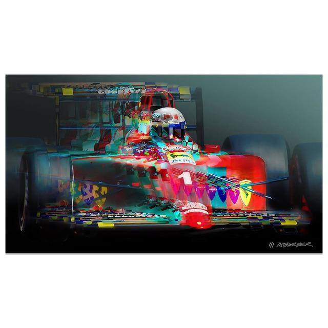 , 'Alain Prost - Ferrari Formula 1 | Automotive | Car,' 2019, Whyte Fine Art