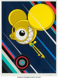 Space Monkey-Yellow