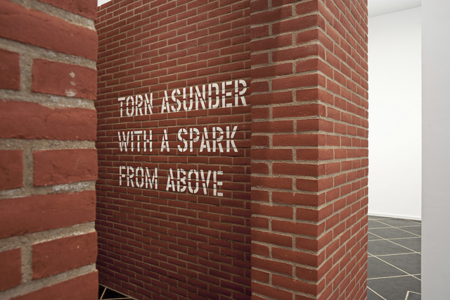 , 'TORN ASUNDER WITH A SPARK FROM ABOVE,' 2014, Galleri Susanne Ottesen