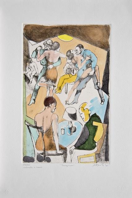 , 'Tangueros,' 1985, Galleria Edarcom Europa