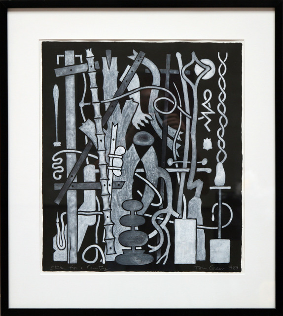 , 'Study For Painting,' 1989, David Richard Gallery