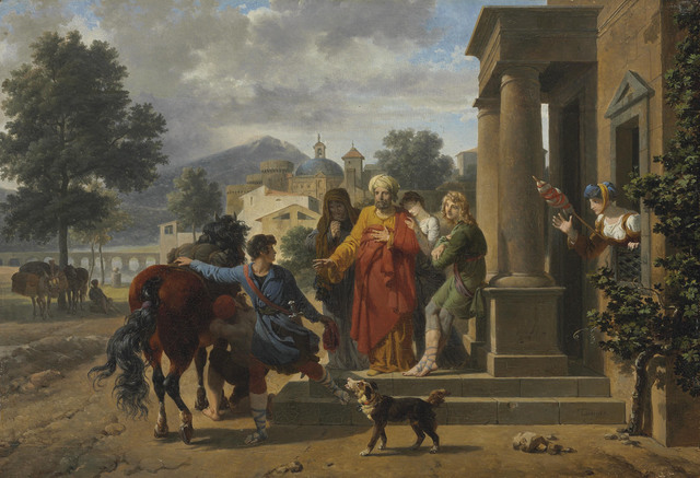 Nicolas-Antoine Taunay, 'The Departure of the Prodigal Son', Christie's Old Masters