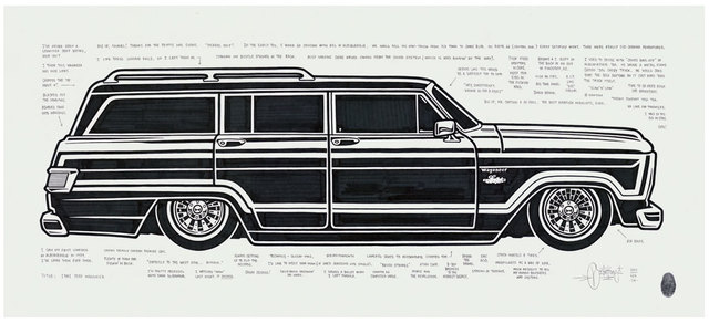 , '1981 Jeep Wagoneer,' 2015, Black Book Gallery