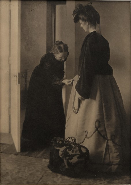 Clarence H. White, 'Beneath the Wrinkle ', 1902, The Halsted Gallery