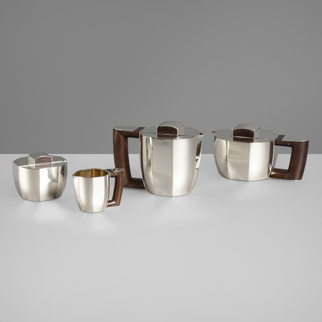 Ateliers Puiforcat, 'Coffee and tea service', Wright